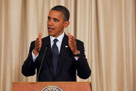 Obama spoke at a news conference Sunday in Bangkok. He's on a three-country tour of Asia.