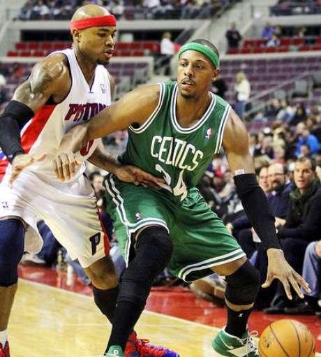 Pierce sufrió una pequeña lesión en el tobillo.