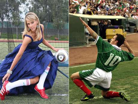 Ines Sainz and Cuauhtemoc Blanco are the newest members of the Terra Sports team.