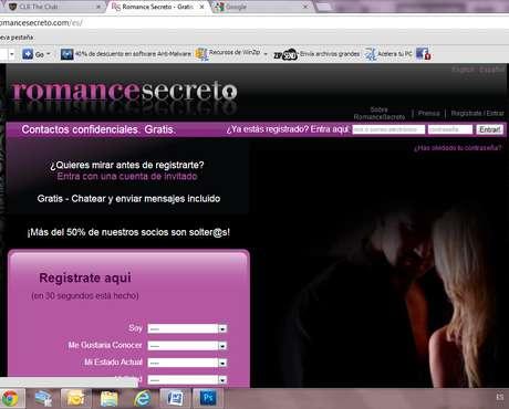 página web intercambio de parejas consolador