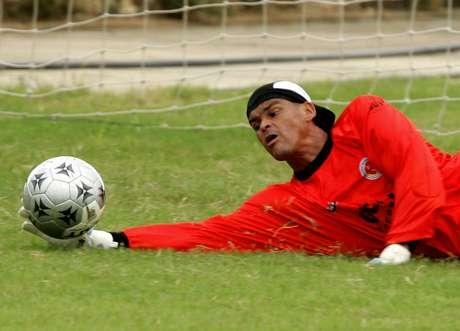 Miguel Calero, en una de sus convocatorias a Selección Colombia