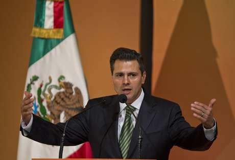 Enrique Peña Nieto asume la presidencia este sábado, en el palacio del Congreso en la Ciudad de México.