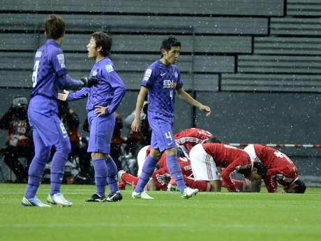 Al Ahly venceu japoneses e pega Corinthians na semi Foto: Ricardo Matsukawa / Terra