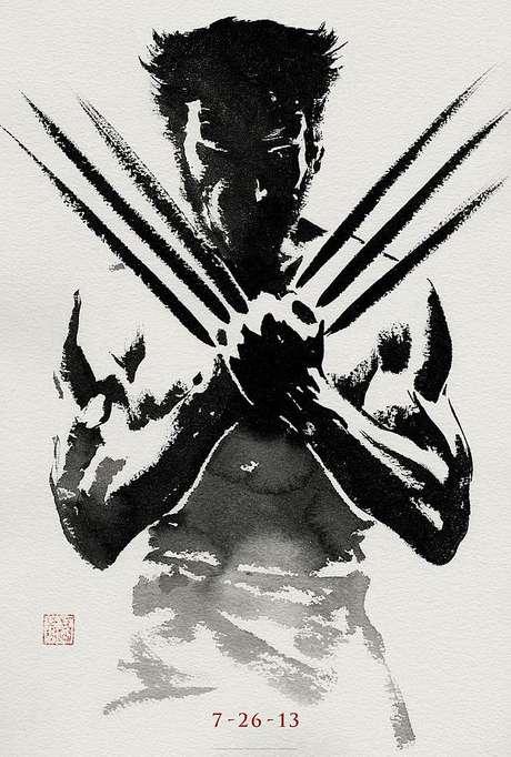 2. The Wolverine. La película se estrenará hasta el 26 de julio del 2013 pero su poster ya está llamando la atención