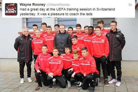 Photo: Twitter/Wayne Rooney