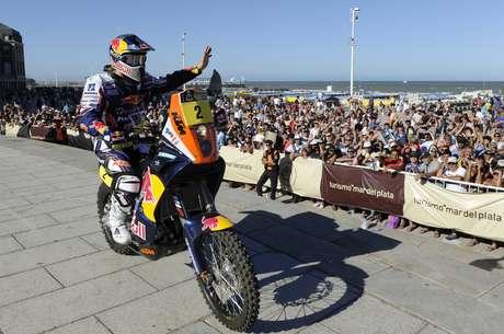 El Dakar partirá en Lima.