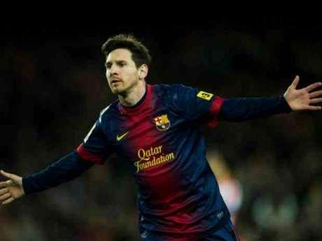 El delantero del Barcelona, Leo Messi