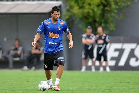 Felipe Anderson teve bom desempenho na temporada 2012 Foto: Ivan Storti/Santos FC / Divulgação
