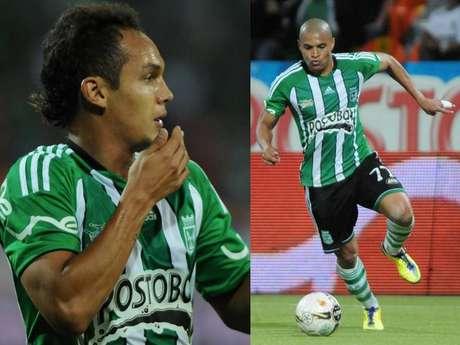 Jonathan Álvarez y Diego Álvarez, nuevos refuerzos del Junior de Barranquilla.