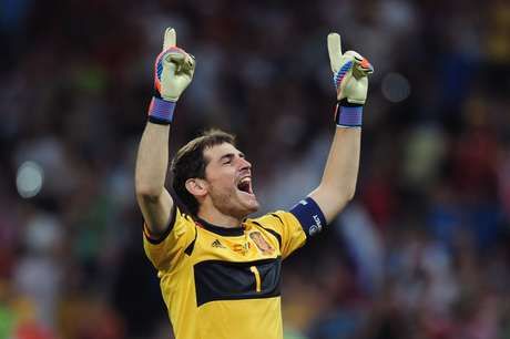 Iker Casillas was named the World Best Goalie again by the IFFHS.
