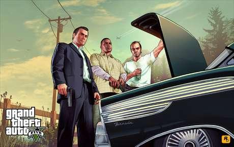Rockstar anunciou para o fim do mês a apresentação da capa oficial de 'GTA V'  Foto: Divulgação