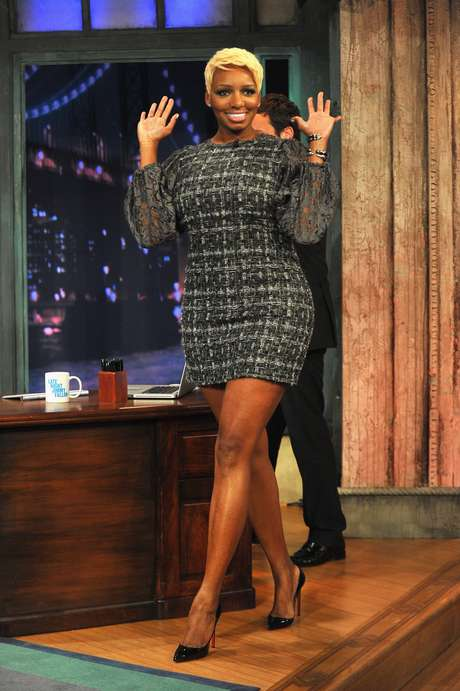 <strong>Nene Leakes</strong> was looking bangin' during her appearance on<i>Late Night with Jimmy Fallon</i>.