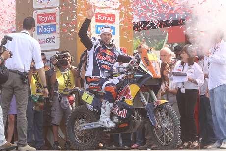 Revive las mejores imágenes del inicio del Dakar 2013.