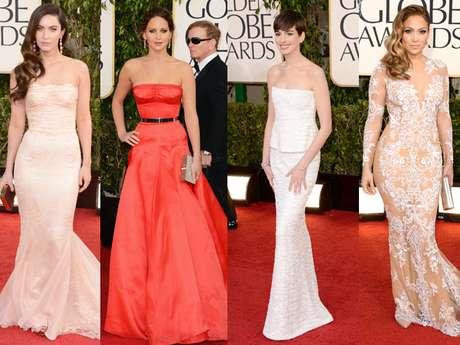 ¿Cuales fueron para ti los mejores y peores vestidos de los Golden Globes 2013? (Terra USA/Armando Tinoco)