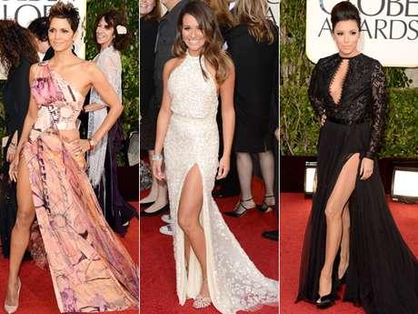 Las famosas lucieron súper sexys pero también varias de ellas querían lucir más que un simple atuendo. ¡Conoce a las famosas y a sus piernas que se robaron las miradas en los Golden Globes!
