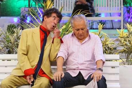 Na foto, Clayton Silvacontracena com Carlos Alberto de Nóbrega