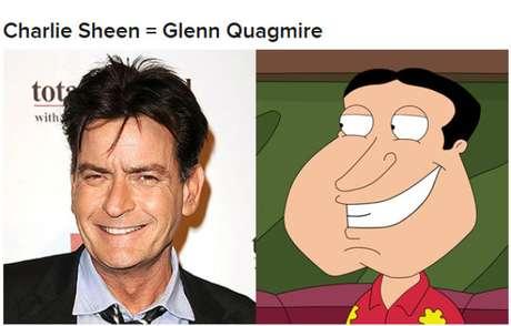 """Charlie Sheen es calcado a Quagmire de """"Family Guy"""""""