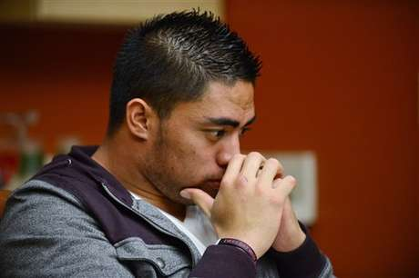 For the first time since the story of his fake girlfriend broke, Manti Te'o spoke about the hoax and denied any role, aside from falling for it.