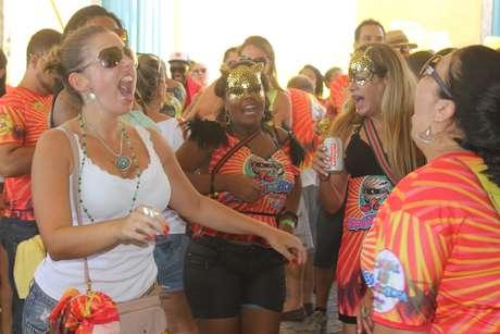 Nem o calor de 34° espantou o público doBerbigão do Boca, na região central de Florianópolis