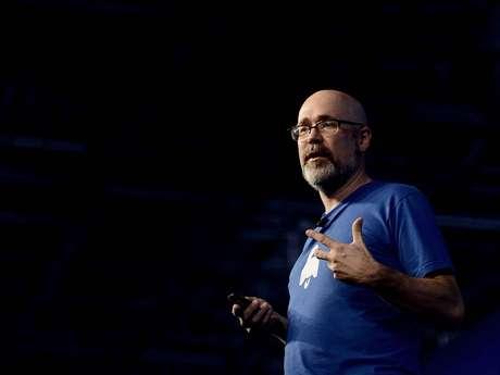 Marc Surman, da Mozilla, palestrou na Campus Party nesta sexta-feira Foto: Ricardo Matsukawa / Terra