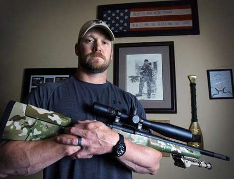 """Kyle, who wrote """"American Sniper"""" about his military service from 1999 to 2009, and another man were found dead at the Rough Creek Lodge's shooting range Saturday, according to the Fort Worth Star-Telegram."""