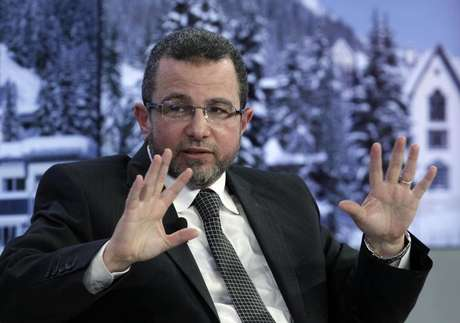 Egypt's Prime Minister Hisham Kandil attends the annual meeting of the World Economic Forum (WEF) in Davos in this file photo taken January 25, 2013.