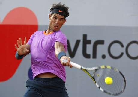 <p>Rafael Nadal jugará dos finales el domingo.</p>