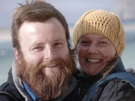 <p>The bicycle trip around the world of a British couple ended in tragedy after both were killed by a truck in Thailand.</p>