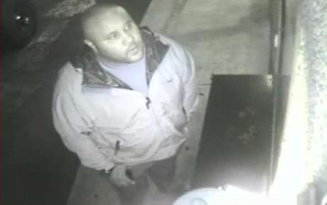 Christopher Dorner is seen on a surveillance video at an Orange County hotel on January 28, 2013 in this still image released by the Irvine Police Department.