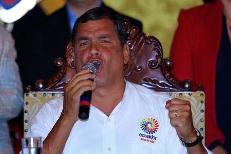 <p>El presidente ecuatoriano, Rafael Correa, era muy amigo de Hugo Chávez.</p>