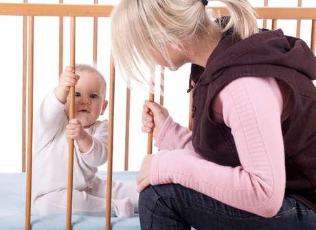 A partir dos seis meses os pequenos já podem começar a dormir no seu próprio quarto