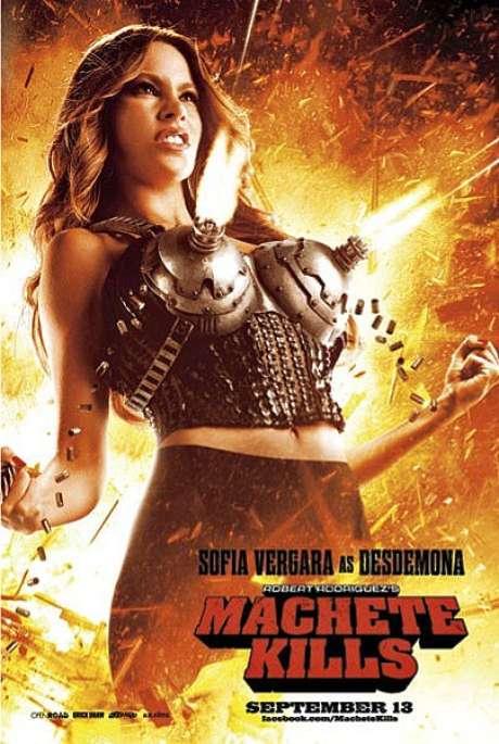 Sofía Vergara en 'Machete Kills'