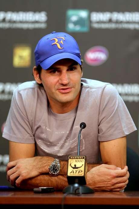 """""""Esta es una buena noticia"""", dijo Federer el jueves en una conferencia de prensa antes de su primer partido este fin de semana en el Masters 1000 de Indian Wells."""