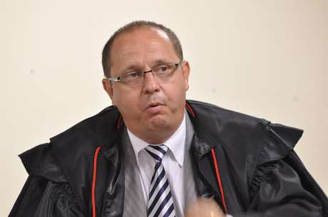 O advogado Ércio Quaresma durante o julgamento do ex-policialBolaque durou seis dias Foto: Renata Caldeira/TJ-MG / Divulgação