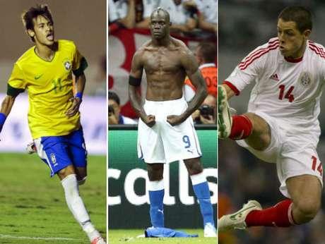 La novena edición de la Copa Confederaciones está más cerca. El 15 de junio próximo comienza la justa, previa al Mundial 2014. El juego inaugural será Brasil ante Japón. Son ocho los equipos que participarán ya que son campeones de sus respectivas regiones. Con motivo de este torneo, recordemos a los jugadores que seguramente darán de qué hablar en el certamen gracias a su calidad futbolística. Te presentamos el Top 10 de los futbolistas clave de la Confederaciones.