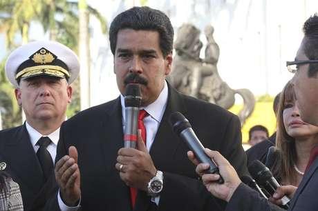 """<p>Maduro aseguró que las medidas economicas buscan """"fortalecer la economía venezolana y blindar el proceso cambiario ante cualquier fraude"""".</p>"""