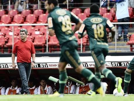 Técnico diz que nãopensaem perigo de demissão Foto: Fernando Borges / Terra