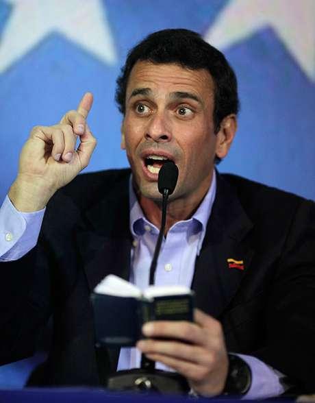 <p>Henrique Capriles enfrentará a Nicolás Maduro en los comicios electorales para definir al nuevo presidente deVenezuela.</p>
