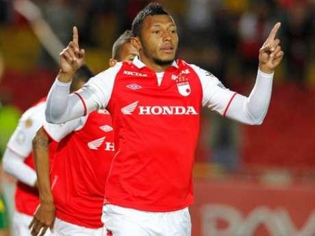 <p>Carlos Valdés, zaguero central de Independiente Santa Fe.</p>