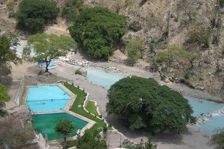Las Grutas de Tolantongo es uno de los balnearios más visitados de Hidalgo.