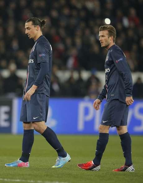 <p>Beckham no iniciaba un duelo de Champions League desde 2010.</p>