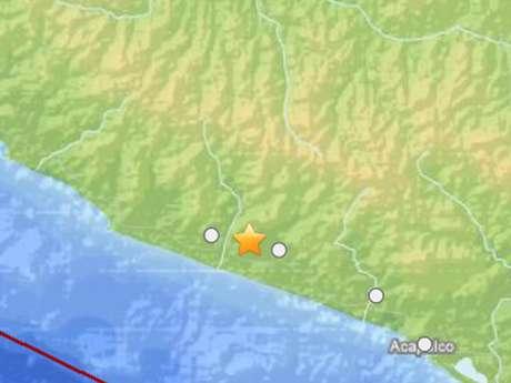 <p>Un sismo se sintió hoy, 4 de abril de 2013, en la capital del país, con una intensidad preliminar de 5.3 grados Richtergrados con origen en Tecpan, Guerrero.</p>