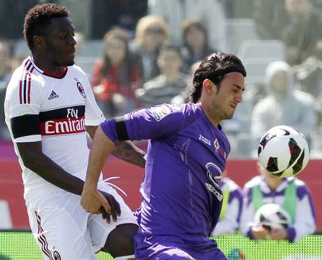 <p>Fiorentina se vio abajo 2-0 con un hombre menos pero logró empatar.</p>