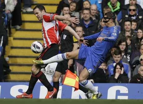 <p>Chelsea logró recuperarse de un autogol sobre el final de la primera mitad.</p>
