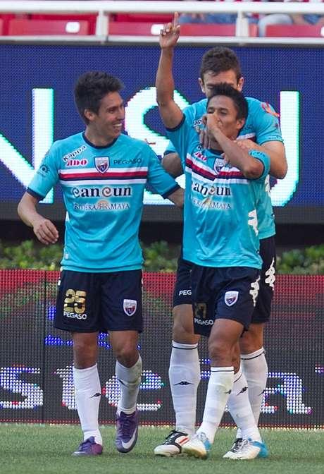 <p>Francisco Uscanga logró el tanto de la victoria al minuto 88'.</p>