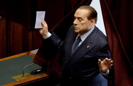 <p>El líder de centroderecha, Silvio Berlusconi</p>