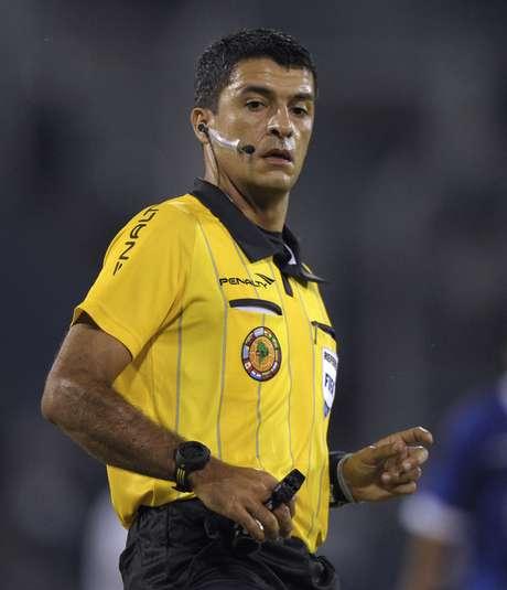 Sandro Ricci, árbitro brasilero para el partido de Colombia contra Perú.