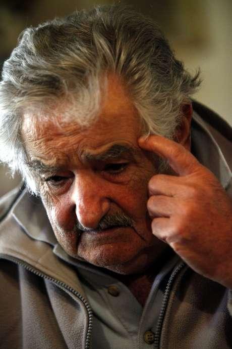 O ex-guerrilheiro que passou 14 anos na prisão, a maioria durante a ditadura (1973-1985),faz 78 anos neste dia 20 de maio Foto: EFE