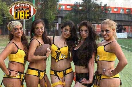 Foto: Facebook: Liga Iberoamericana de Bikini Football