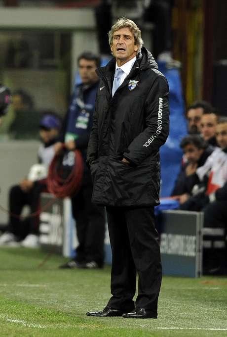 Alvo do Manchester City, Pellegrini confirmou que deixará o Málaga ao fim desta temporada Foto: Getty Images